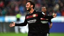 Calhanoglu scores two as Bayer Leverkusen beat Hertha Berlin