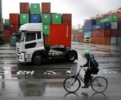 Exports rise for 5th month, but imports at 2 year high