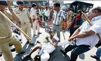 Dalits dragged into detention, women protesters manhandled