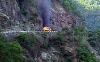 Watch: Multiple gas cylinder explosions on Rishikesh-Badrinath highway