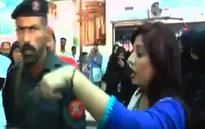 Case filed against female anchor slapped by FC man