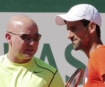 French Open 2017: Novak Djokovic reveals how chance phone call led to hiring Andre Agassi as coach