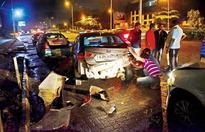 Mumbai Western Express smash-up leaves 3 cars damaged