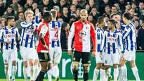 Flagging Feyenoord suffer fourth straight league defeat