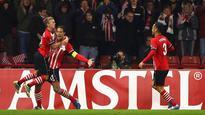 Southampton boss Claude Puel calls for Antonio Candreva red card