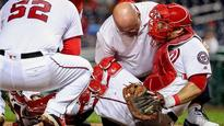 Nationals lose All-Star catcher for rest of season