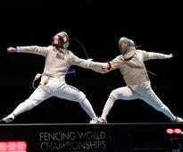 Fencing legend Valentina Vezzali bows out with silver at Rio 2016 Olympic test event