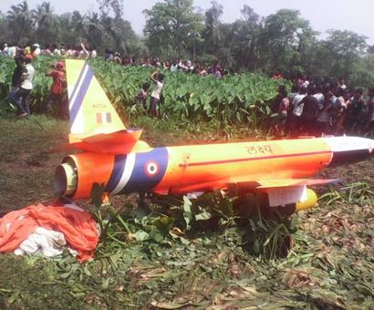 Unmanned aerial vehicle Lakshya crashes in Odisha