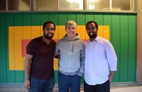 Photo Of The Week: Google Co-Founder Larry Page At Walia Ethiopian Restaurant