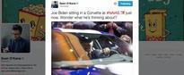 Vice President Joe Biden Visits 2017 Detroit Auto Show, Wants to Buy a Corvette