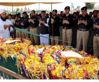Targeted: Slain section officer laid to rest in Wazir Bagh