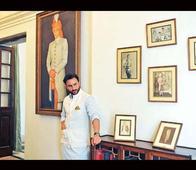 Saif Ali Khan Poses Like a True 'Nawab'! See More Pics of the Grand Pataudi Palace