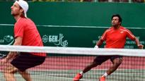 Paes-Begemann fall in Tashkent Challenger final