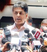 Manish Tewari re-appointed Congress spokesperson