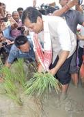 Sonowal urges farmers to usher in green revolution