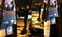 Shocking! Ex-lovers Karishma Tanna and Upen Patel spotted fighting on street!