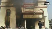 Odisha: Police station torched in Sambalpur over custodial death