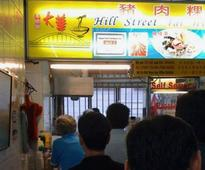 A street food stall in Singapore was just awarded a Michelin star