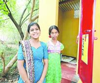 Birthday gesture: a toilet for needy girl