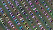 In pics: Watch the world celebrate International Day of Yoga 2016