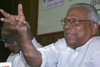 93-yr-old Achuthanandan 'warned for violating party discipline'