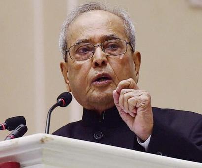 Varsities should be place of debate, not violence: President Mukherjee
