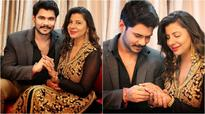 Sambhavana Seth engaged to boyfriend Avinash Dwivedi