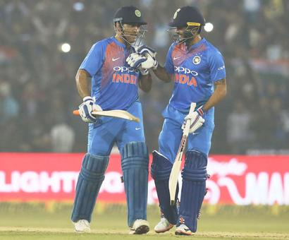 'Dhoni continues to be an inspiration in the dressing room'