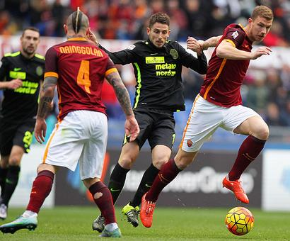 European football: Roma held by lowly Verona; Monaco up to second in France