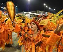 Dazzling Rio carnival gives Brazilians reason to smile