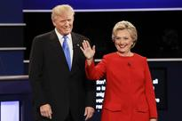Hillary comes up trumps in first presidential face-off