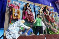 Culture, kitsch and Mother Teresa at Hindu goddess' festival