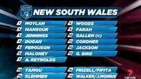 NSW announce team of State of Origin game 1