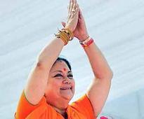 Vasundhara Raje launches 'school on wheels' for nomadic, tribal children