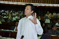 Imran, Khurshid address NA as Opp calls off boycott