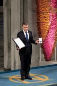 Colombian Nobel Prize winner says a