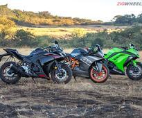 Yamaha YZF-R3 vs Kawasaki Ninja 300 vs KTM RC390: Comparison Review
