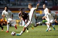 SERIE A: Totti's 250th Serie A goal fails to save Roma