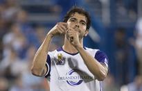 Kaka scores twice for Orlando; RLS, Galaxy draw 3-3