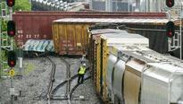 Washington: Train derails near Metro stop, leaks hazardous chemical