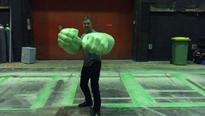 Mark Ruffalo has his hands full of Hulk