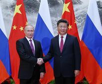 China, Russia pledge 'unswerving' partnership