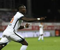 Ninga blow for Monpellier as Chad striker out for six months