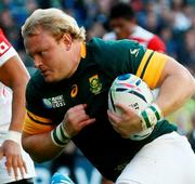 Strauss' cousin Adriaan to lead Springboks for Ireland Tests