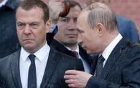 Russian internet users ponder what Vladimir Putin told grumpy Dmitry Medvedev