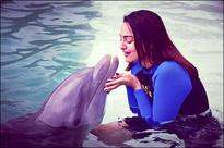Check out Sonakshi Sinha turns dolphin whisperer
