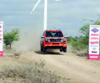 Amittrajit sizzles in MRF rally at Coimbatore